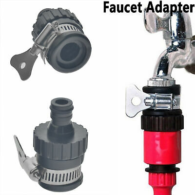 Universal Tap Connector Adapter Mixer Kitchen Garden Hose Pipe Joiner Fitting