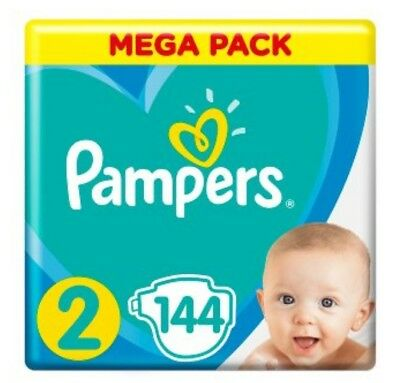 _Pampers New Baby Dry Gr.2 4 - 8 kg * 144 Stück * ANGEBOT *