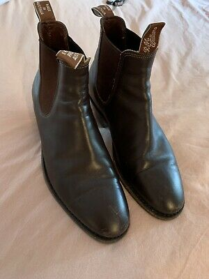 080eca35a70 RM WILLIAMS ADELAIDE Boots - Brown - Cuban Heel Size 7
