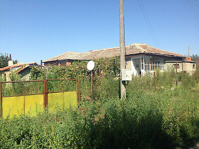 Seaside real estate home 1200 sq.m. plot Balchik area 15 km to the sea Bulgaria