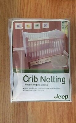 NIP! Jeep Crib Netting. Helps protect child from mosquitoes & other insects