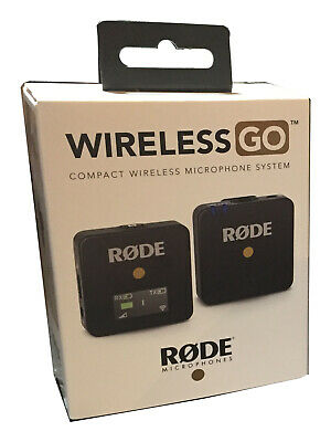 Rode Wireless GO Compact Wireless Microphone System (2.4 GHz) ( Black )