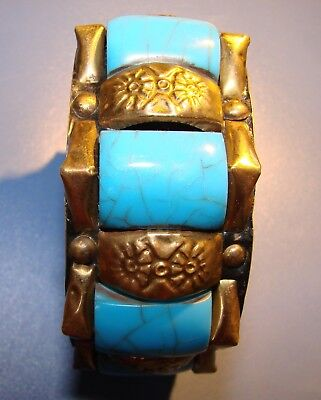 Ancient Eastern Bracelet. Rarity. Brass.original.