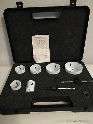 Snap On Steel Welded Edge High Speed Hole Saw Kit