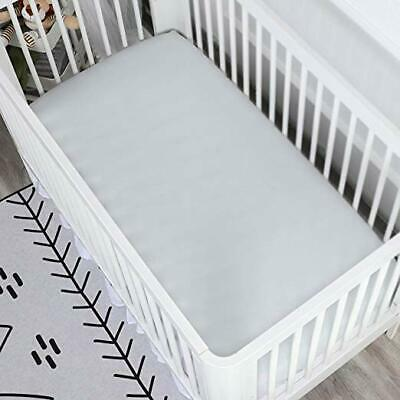 Silky Soft Crib Fitted Sheet %100 Cotton , Hypoallergenic