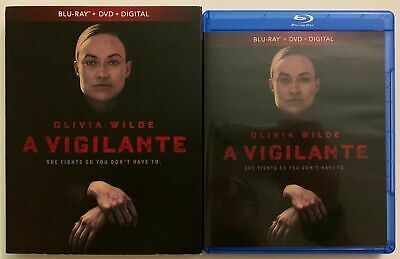 A Vigilante Blu Ray Dvd 2 Disc Set + Slipcover Sleeve Free World Wide Shipping