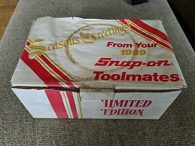 Lot of 6 1989 SNAP-ON TOOLS Toolmate Edition Mugs  coffee cup collectors NEW