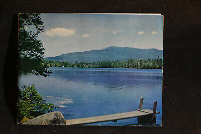 The Monadnock Region In the Heart of New England Brochure With Map