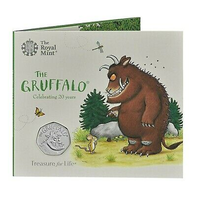 2018 The Gruffalo 50p 20th Anniversary Uncirculated Rare Collectable Coin Mint