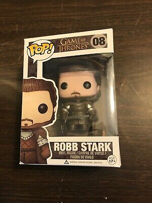 Funko Pop! Game of Thrones Robb Stark #08 Vaulted Retired Damage Box