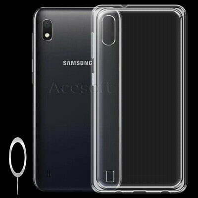 For Samsung Galaxy A10 (2019) SM-A105M Durable Clear Shockproof Silicon TPU Case