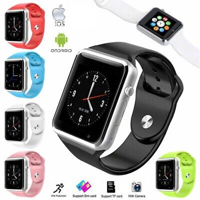 Smart Wrist Watch A1 Camera Bluetooth GSM Phone For Android Samsung LG iPhone US