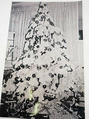 "Flocked Christmas Original Photo By Mark Powers Vintage 70's B&W 11"" x 17"""