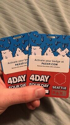 PAX West 2019 Seattle WA - 4-Day Badge - SOLD OUT