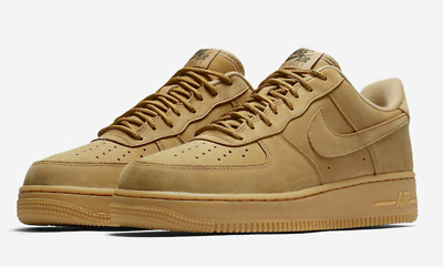 Nike Air Force 1 Low '07 WB SZ 13 Flax Outdoor Wheat Gum AF1 Brown AA4061-200