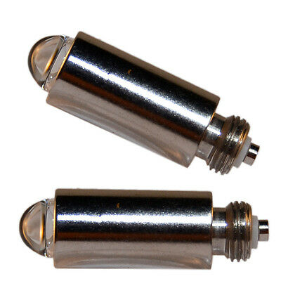 2-Pack HQRP 3.5V Halogen Bulb for Welch Allyn 03100-U 03100-1 21700 20000 20200