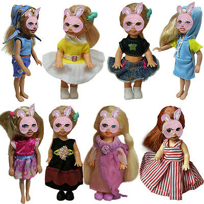 1PC Cute Doll Clothes Suitable for 10CM Dolls Fashion Styles Fashion Gift  Kids