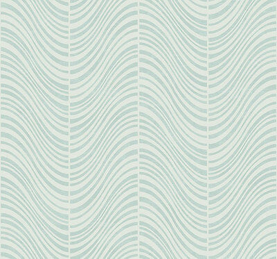 "Wallpaper Modern Contemporary Bone White Squiggly Wavy Line Lines /""Raindrops/"""