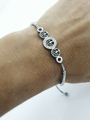 Women's Stainless Steel Sliding Bracelet Tree Of Life Ladie's Jewellery