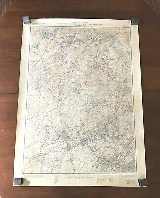 1954 New Jersey Dept of Conservation and Economic Development Topographic Map