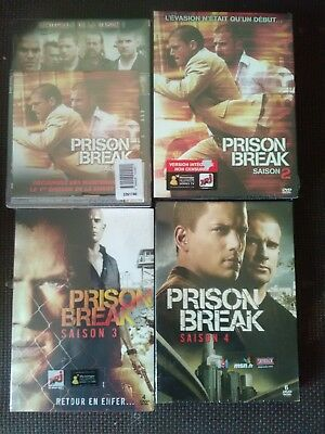 Coffrets dvd Prison break saison 1 à 4 NEUF SOUS CELLO