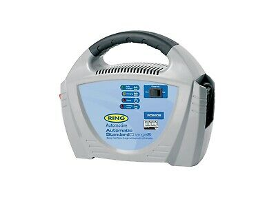 Ring RCB208 12V 8 Amp Automatic Battery Charger