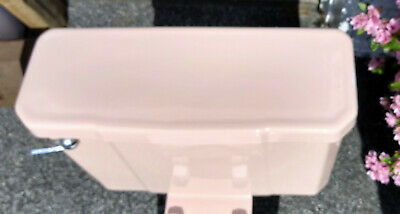 Vintage CASE Pink Toilet Tank Lid - Dated 1955  FREE SHIP