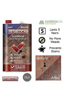 Resiblock Superior Matt Paving Sealer 5lt
