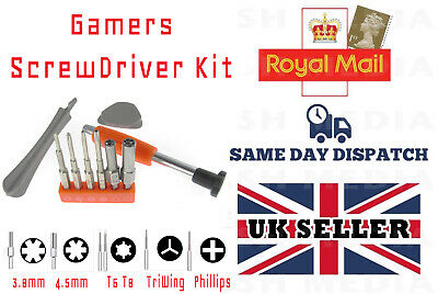 Gamers Screwdriver Tool Kit For Xbox Nintendo Nes Snes N64 Gameboy Ps4 And More