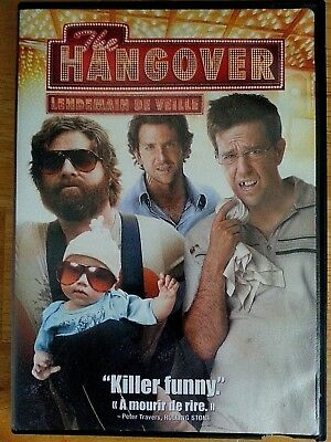 The Hangover (DVD, 2009) Killer Funny English French Movie Film Vegas party beer
