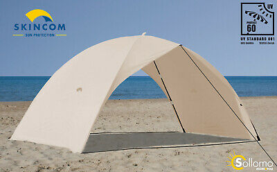 Skincom Easy for Two WIND UV60 beige Sonnenzelt Strandmuschel Strandzelt