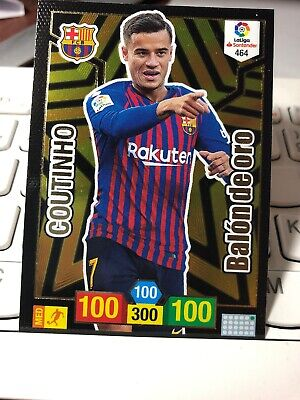 Adrenalyn Xl 2018 2019 Coutinho. Balon De Oro Barcelona
