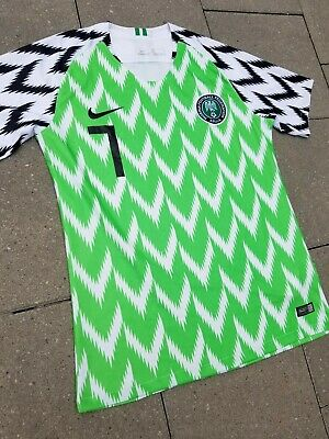 80d505e5c62 Nike Aeroswift Nigeria Football Federation National Team Soccer Jersey  Small Men