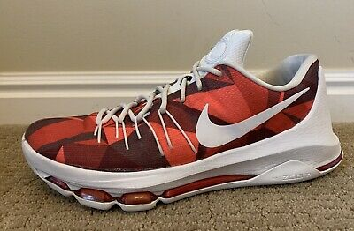 san francisco c2d7a c7ed1 KD Viii 8 One Of A Kind! Nike iD Crimson Size 10 Mens Basketball Sneakers