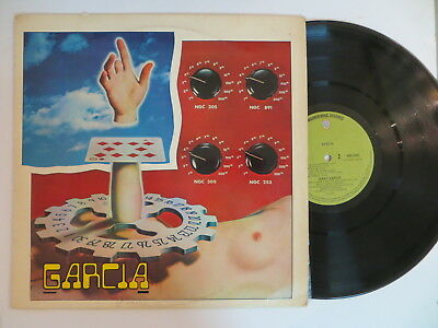 Jerry Garcia Selftitled Rare New Zealand Press LP Grateful Dead