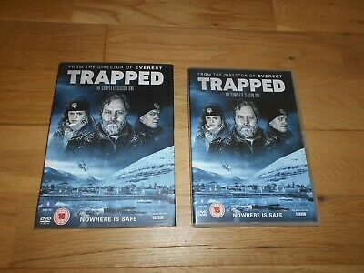 Trapped The Complete Season One Dvd Bbc Nordic Noir 4 Disc Set