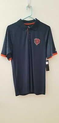 0cdc77ab4ab [Majestic] Cool Base Collared Shirt NWT - NFL Football Chicago Bears - MSRP  $55