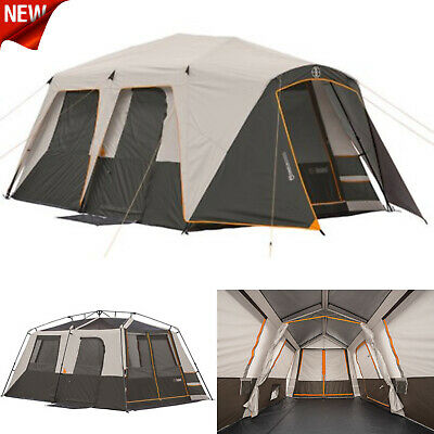 d3b69758d9d5 9 Person Instant Cabin Tent Family Camping Equipment Gear Sleeping Bag  Hiking