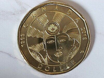 NEW! 2019 $1 Dollar EQUALITY coin Canadian Loonie LOW Mintage MS quality