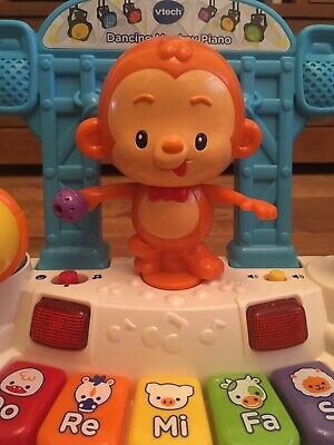 vtech Dancing Monkey Piano - Music and Lights Baby Toy with Microphone