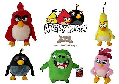 Official Angry Birds Plush Soft Toy 30cm