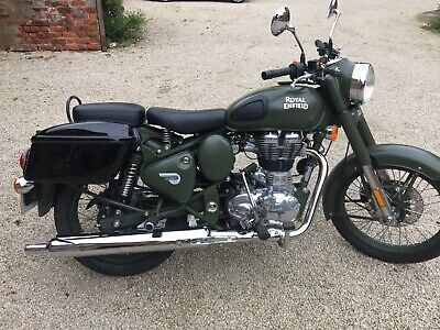 Royal Enfield Panniers Fits All Classic Models