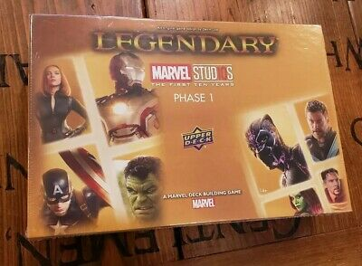 Legendary: Marvel Studios - Phase 1 (Card Game) MCU deckbuilder board BRAND NEW