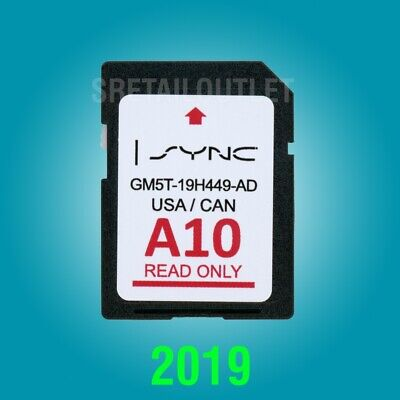 Latest 2019 FORD LINCOLN A10 Navigation SD Card GPS SYNC UPDATES A9 A8 A7