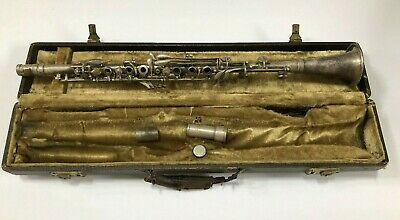 Vintage BC Cadet Clarinet with Case - Silver Plated
