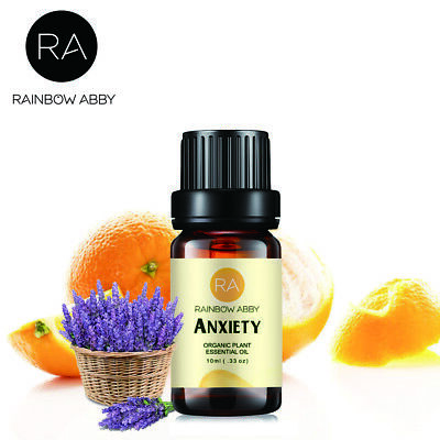 RA Essential Oils Aromatherapy Natural Pure Oils 10ml Relief Anxiety Diffuser US