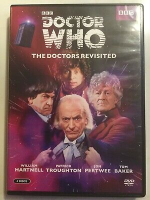 Doctor Who - The Doctors Revisited, 1-4 DVD Four Disc Set SHIPS QUICKLY
