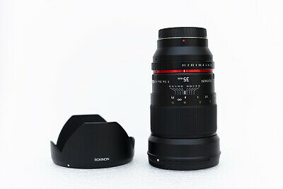 Rokinon 35mm F/1.4 AS UMC Wide-Angle Manual Focus Lens for Samsung NX Mount