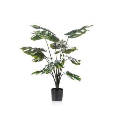 Emerald Planta Monstera en Maceta 98cm Decoración Flores Artificiales de Casa