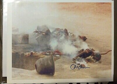 Star Wars A New Hope Phil Brown Signed Crispy Uncle Owen photo Extremely Rare